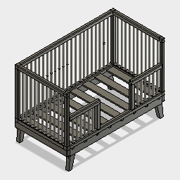DOWNLOAD toddler-bed-modelo-Cecilia.f3d