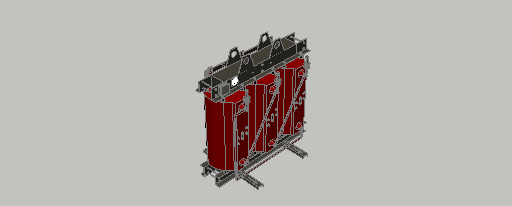 DOWNLOAD Cast-Resin_Transformer_800kVA-20kV.dwg