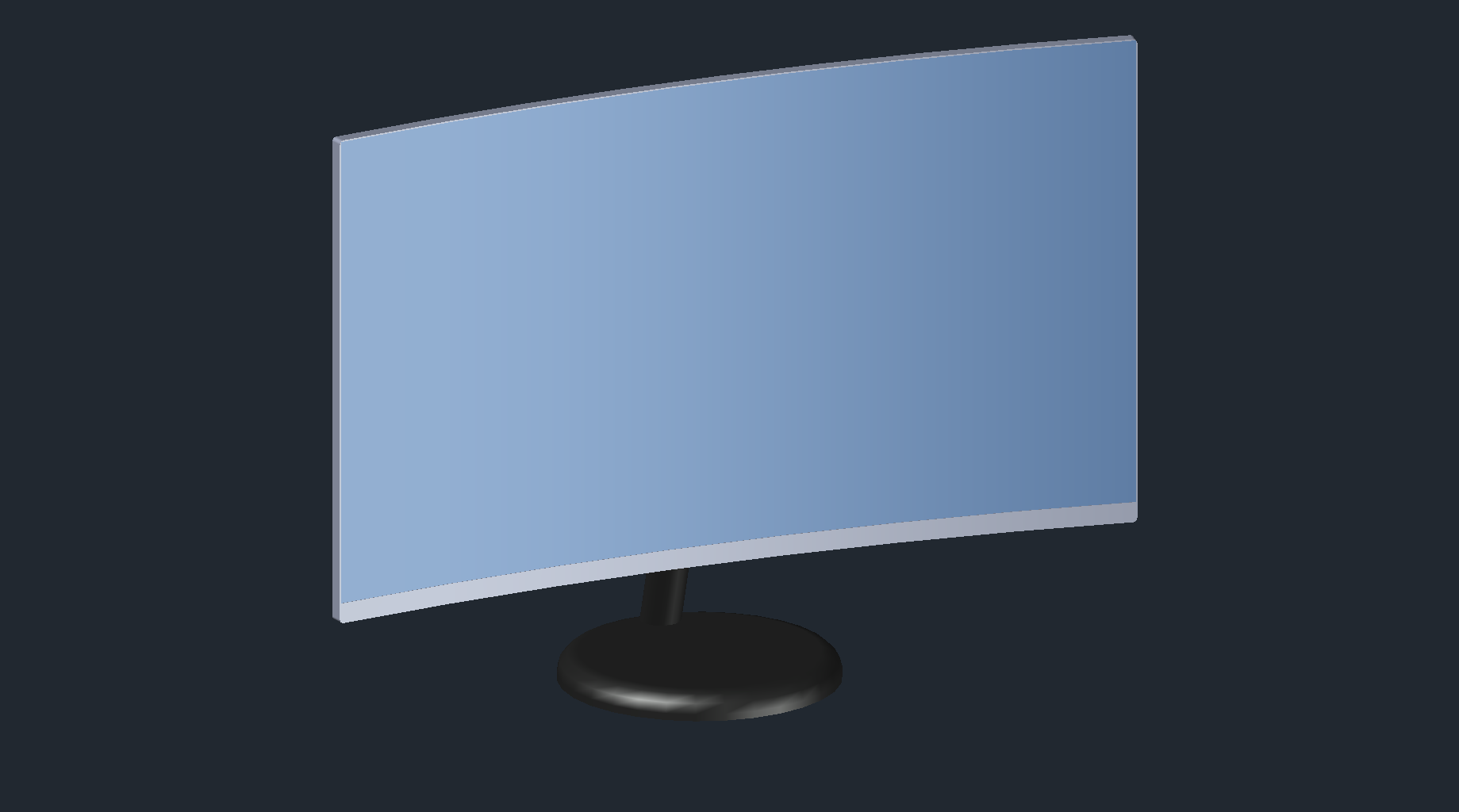 DOWNLOAD Samsung_27_Curved_QLED_WQHD_Monitor.dwg