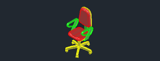 DOWNLOAD Vgmm_Chaise_012_3D.dwg