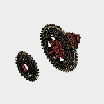 MTB_Rear_Wheel_Assembly.f3d