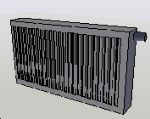 Cad forum cad bim library of free blocks radi tor for Radiador dwg