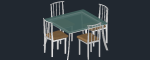 Dining_Table___4_Chairs3D.dwg