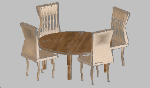 Dining_Table_with_chairs.dwg