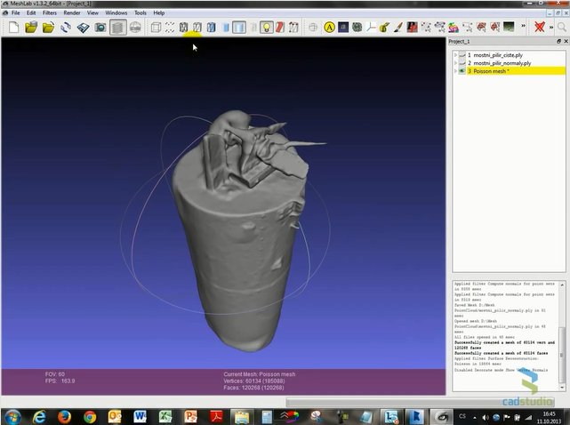 Cad Forum How To Convert A Point Cloud To An Editable 3d