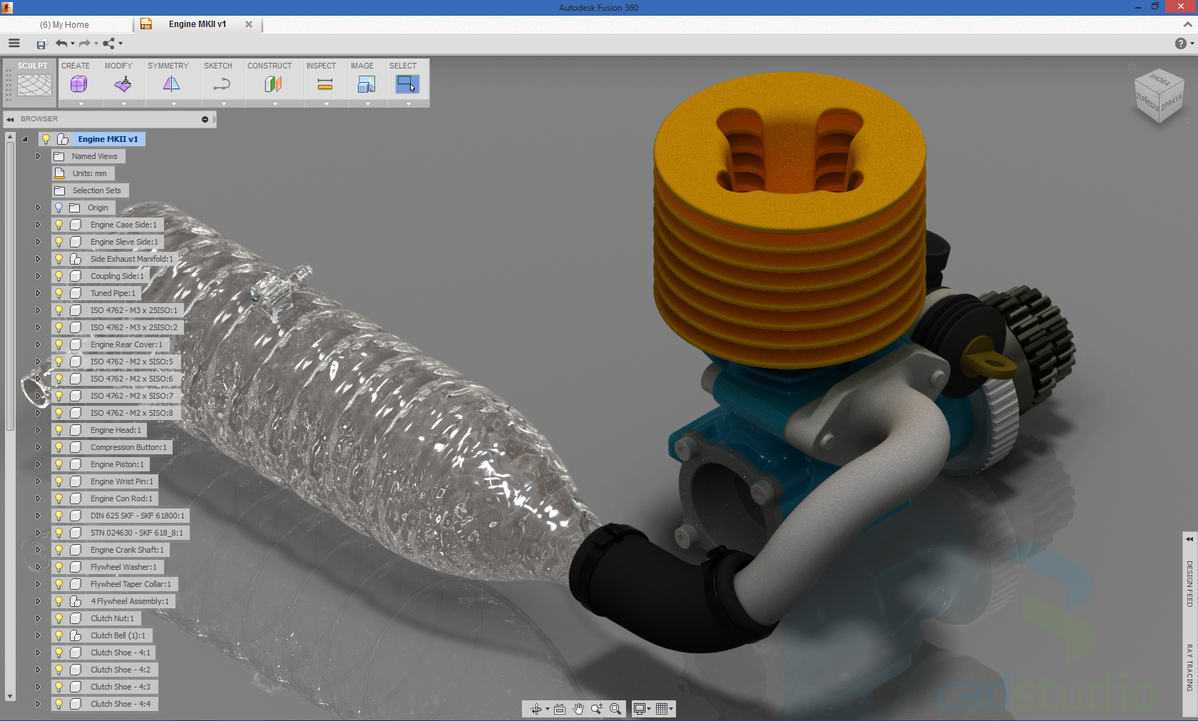 CAD Forum - Ray-tracing of 3D models in Fusion 360