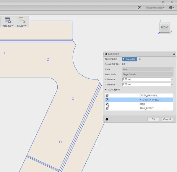 CAD Forum - How to export unfolded sheetmetal parts in