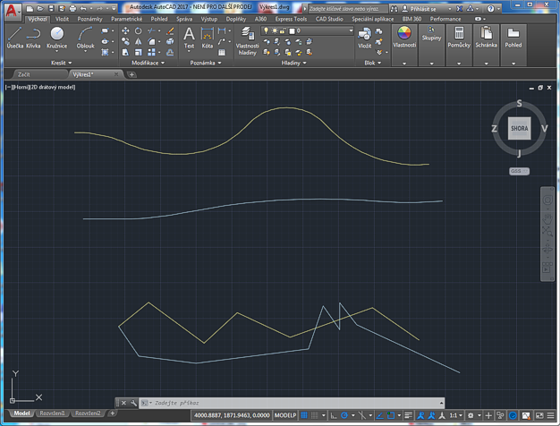 CAD Forum - Easier hatching between two polylines - Hatch2L