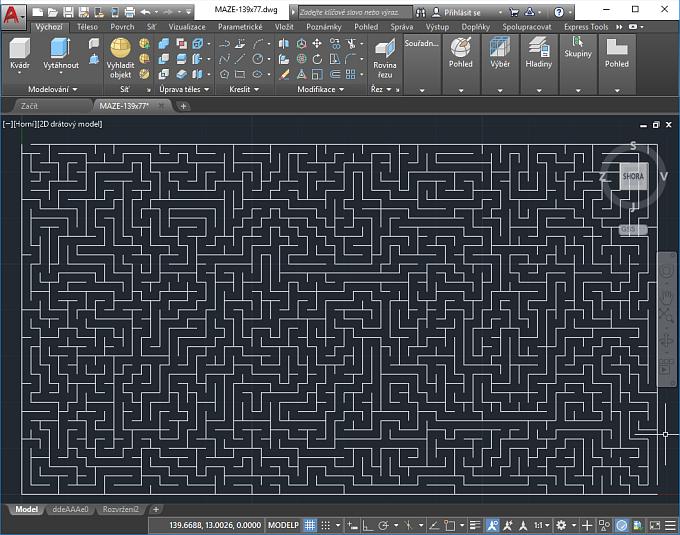 CAD Forum - Maze generator for AutoCAD