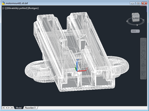 CAD Forum - Convert surface (mesh) model to 3D solid body